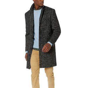 J.Crew Mercantile Men's Wool Herringbone Topcoat